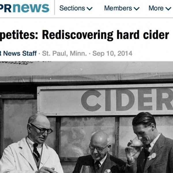 REDISCOVERING HARD CIDER WITH MPR