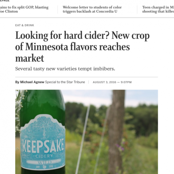 Looking for hard cider? New crop of Minnesota flavors reaches market